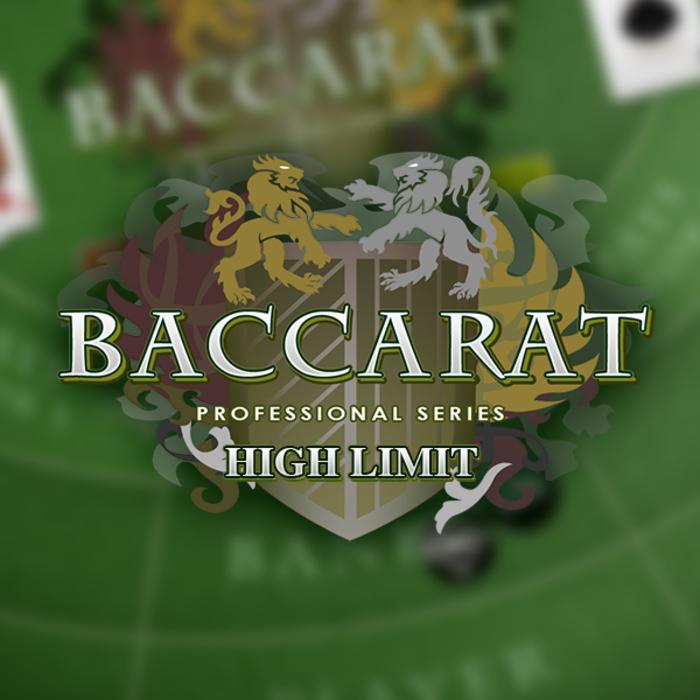 Baccarat Pro - High Limit