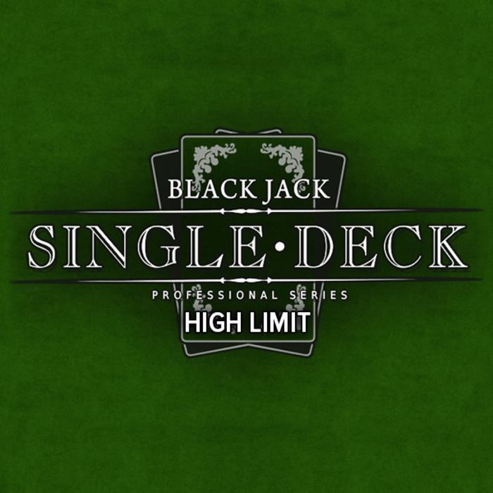Single Deck Blackjack Pro High Limit