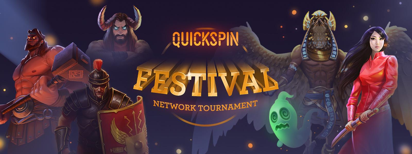 Quickspin Festival - Network Promotion